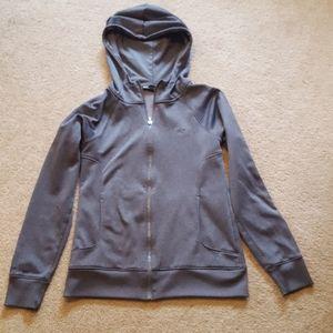 Women's Under armour Storm grey zip up jacket S
